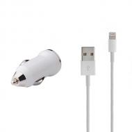 USB autolader en Lightning kabel 1 meter