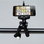 iPhone octopus statief