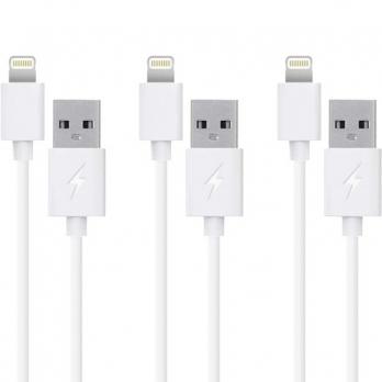 Voordeelpakket Lightning kabels: 20cm + 1m + 2m
