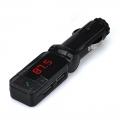 FM Transmitter bluetooth met dubbele USB oplader