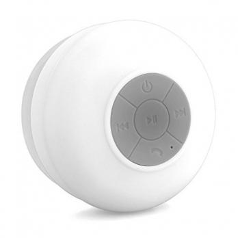 Bluetooth badkamer speaker met belfunctie wit - AppelOplader.nl