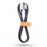 Jeans Lightning kabel 1 meter blauw