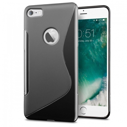 iPhone 7 S-line TPU case zwart
