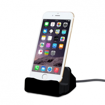iPhone docking station zwart