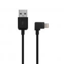 iPhone kabel met gebogen stekker