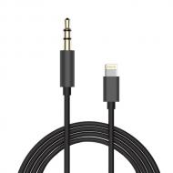 Lightning naar 3,5 mm jack aux audio kabel 1 meter