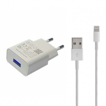 iPad oplader compact Lightning 5 meter wit