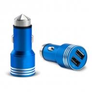Duo autolader met ruithamer blauw