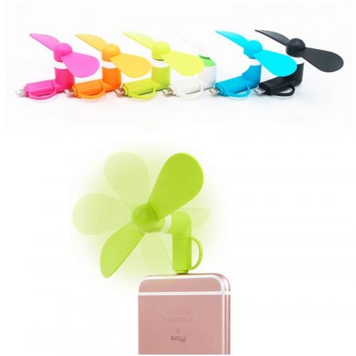 Ventilateur Téléphone Intelligent Micro-usb - Roze X3x3oXPQ