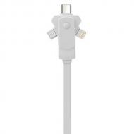 3 in 1 kabel voor smartphone