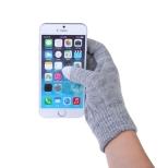 Touchscreen handschoenen grijs