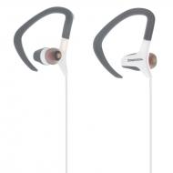 Deepbass D-09 sport oordopjes wit