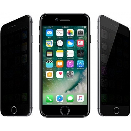 iPhone 8 privacy screenprotector glas