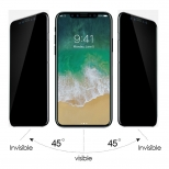 iPhone X / Xs privacy screenprotector glas