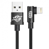 Baseus haakse Lightning naar USB kabel 50 centimeter