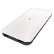 PowerBank 10.000 mAh - QI en duo USB