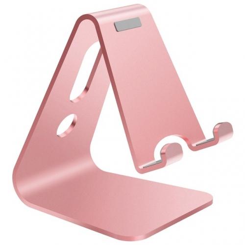 Aluminium tablet- en smartphone standaard