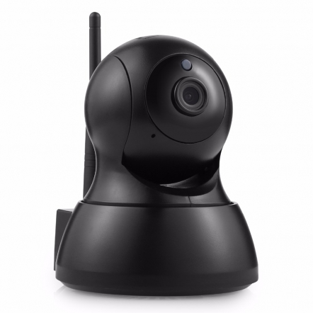 Sannce HD IP WiFi camera met app zwart