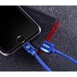 PZOZ nylon Lightning kabel 2 meter zwart