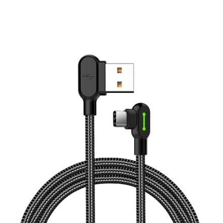 Mcdodo nylon haakse USB-C kabel 50 centimeter