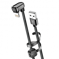Rock 180º Lightning naar USB kabel 1 meter