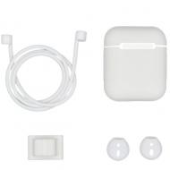 Accessoires set voor AirPods wit