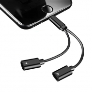 Lightning splitter - opladen en audio