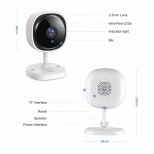 Sannce HD IP WiFi camera 180º met app wit