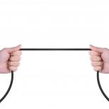 PZOZ haakse Lightning kabel 1 meter met magnetische aansluiting