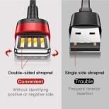 Baseus Lightning kabel 1 meter met omkeerbare USB stekker