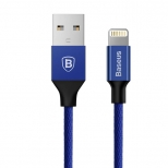 Baseus Yiven nylon Lightning kabel 1,8 meter blauw