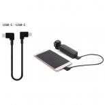 USB-C naar USB-C data kabel haaks 30 cm