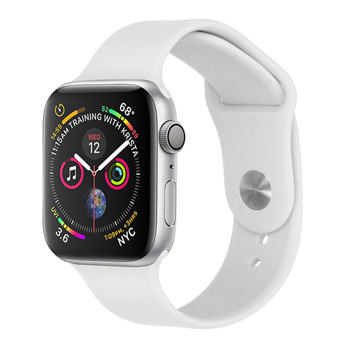 Sport bandje voor Apple Watch 38mm/40mm wit