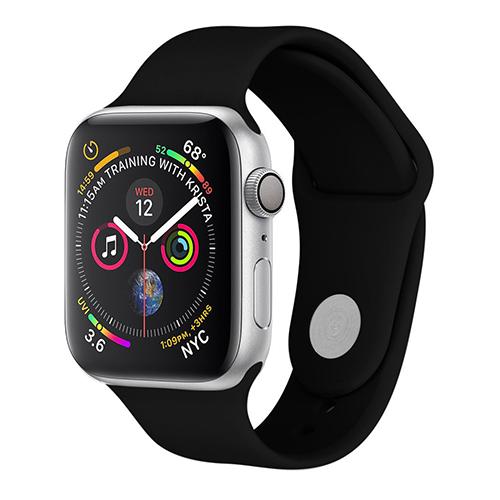 Sport bandje voor Apple Watch 42mm/44mm zwart